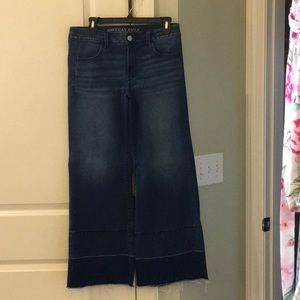 American Eagle super stretch A-line jean 8 short